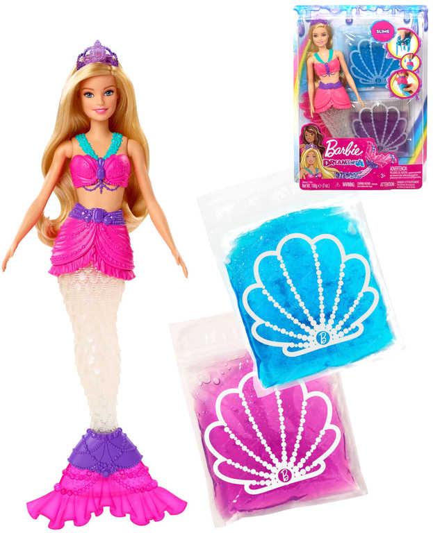 MATTEL BRB Dreamtopia Panenka Barbie víla mořská se slizem