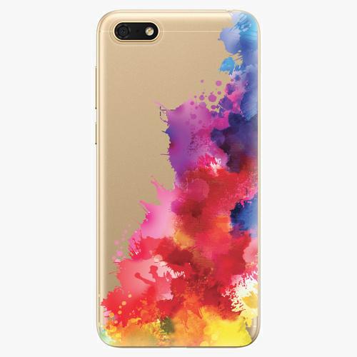 Silikonové pouzdro iSaprio - Color Splash 01 - Huawei Honor 7S