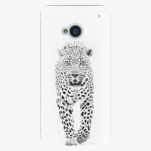 Plastový kryt iSaprio - White Jaguar - HTC One M7