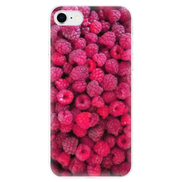 Odolné silikonové pouzdro iSaprio - Raspberry - iPhone SE 2020