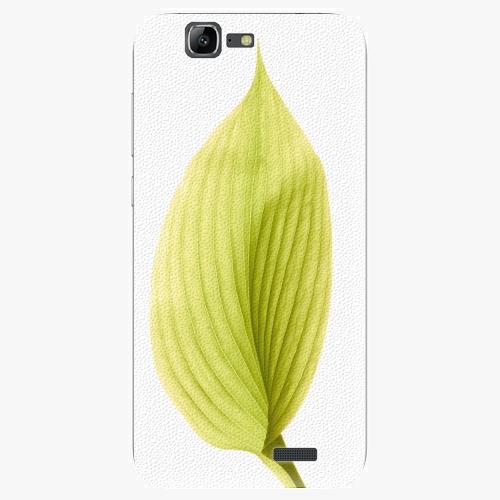Plastový kryt iSaprio - Green Leaf - Huawei Ascend G7