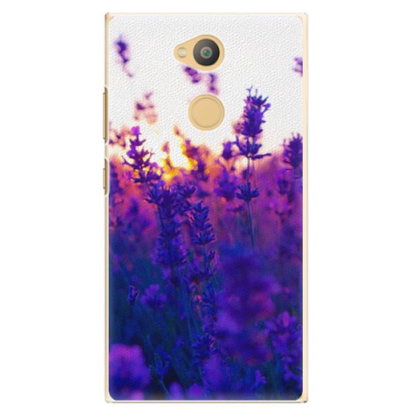 Plastové pouzdro iSaprio - Lavender Field - Sony Xperia L2