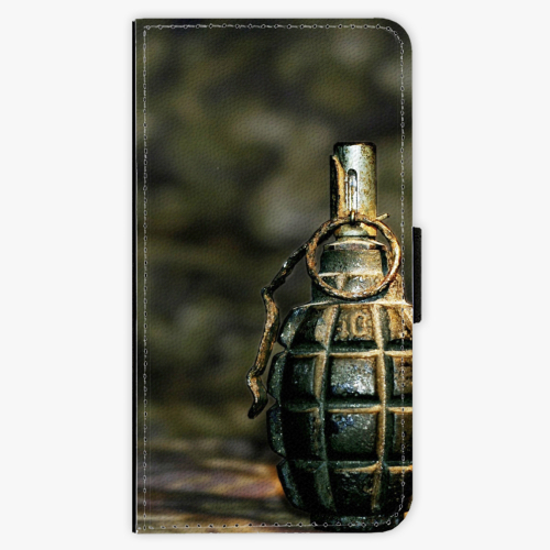 Flipové pouzdro iSaprio - Grenade - Samsung Galaxy A3