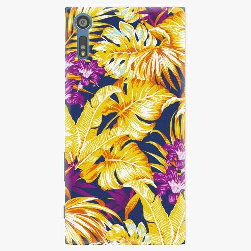 Plastový kryt iSaprio - Tropical Orange 04 - Sony Xperia XZ
