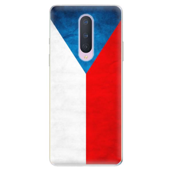Odolné silikonové pouzdro iSaprio - Czech Flag - OnePlus 8