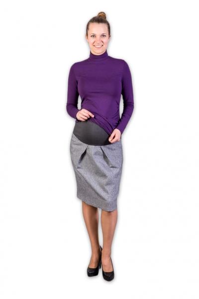 Těhotenská vlněná sukně