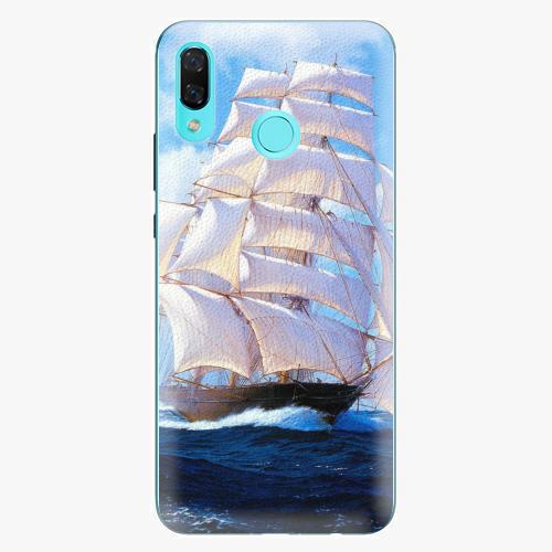 Plastový kryt iSaprio - Sailing Boat - Huawei Nova 3