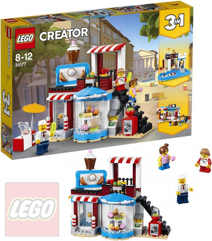 LEGO CREATOR Cukrárna 3v1 31077 STAVEBNICE
