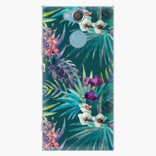 Plastový kryt iSaprio - Tropical Blue 01 - Sony Xperia XA2