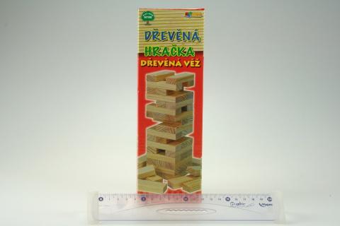 Hra věž dřevěná velká