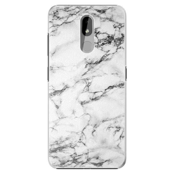 Plastové pouzdro iSaprio - White Marble 01 - Nokia 3.2