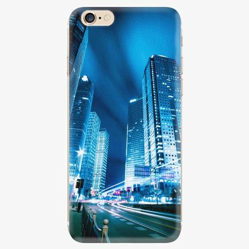 Silikonové pouzdro iSaprio - Night City Blue - iPhone 6/6S