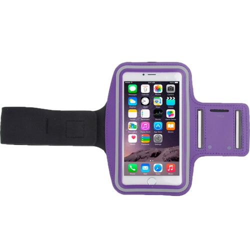 Sportovní pouzdro pro iPhone 6 Plus / 6S Plus fialové
