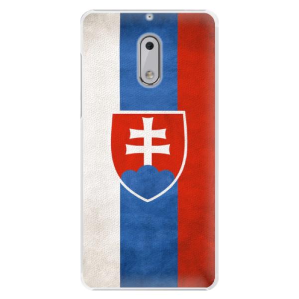 Plastové pouzdro iSaprio - Slovakia Flag - Nokia 6