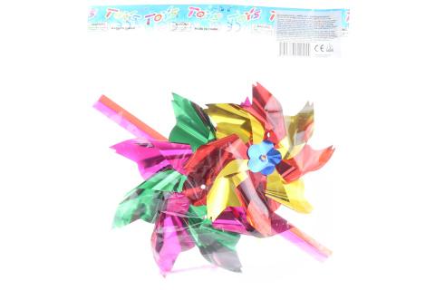 Větrník barevný 2 ks v sáčku - mix barev