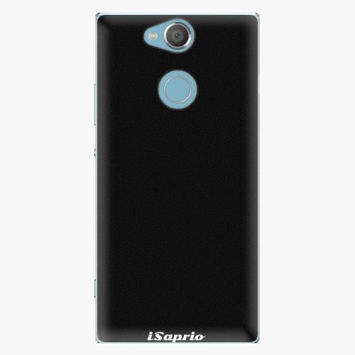 Plastový kryt iSaprio - 4Pure - černý - Sony Xperia XA2