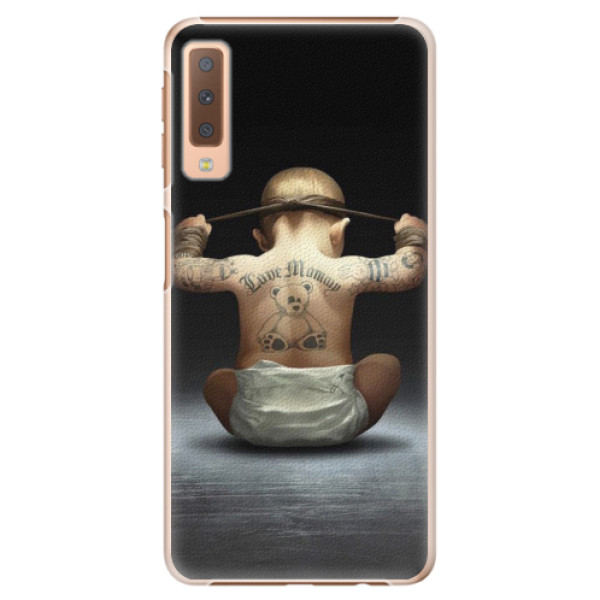Plastové pouzdro iSaprio - Crazy Baby - Samsung Galaxy A7 (2018)