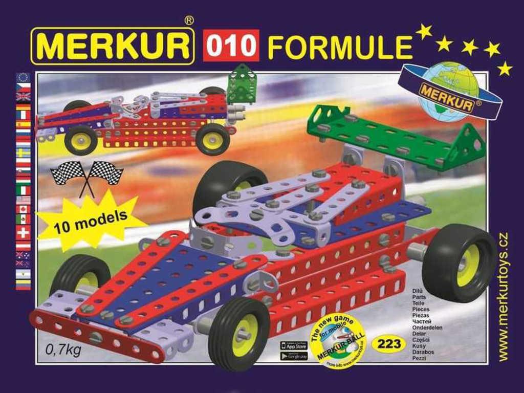 MERKUR 010 Formule * KOVOVÁ STAVEBNICE *