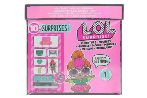 L.O.L. Surprise Ložnice & Neon Q.T.
