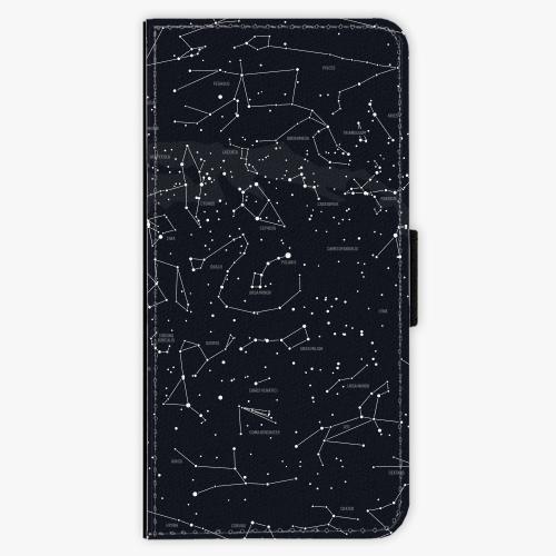 Flipové pouzdro iSaprio - Night Sky 01 - Samsung Galaxy A3 2017