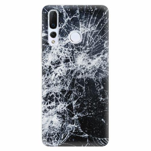 Silikonové pouzdro iSaprio - Cracked - Huawei Nova 4