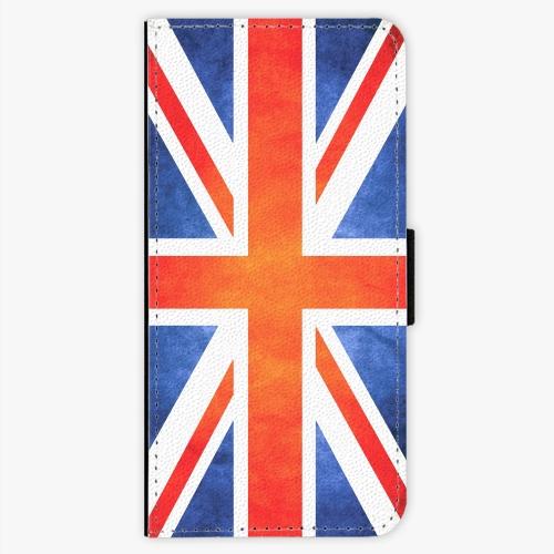 Flipové pouzdro iSaprio - UK Flag - Samsung Galaxy S7 Edge