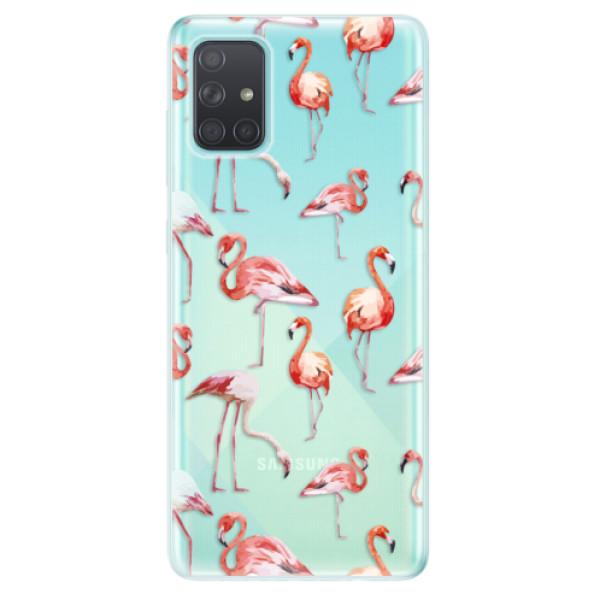 Odolné silikonové pouzdro iSaprio - Flami Pattern 01 - Samsung Galaxy A71