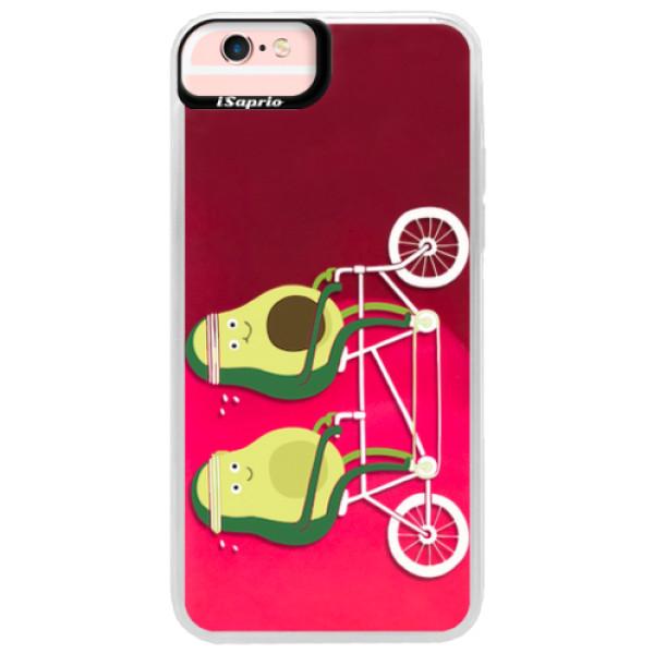 Neonové pouzdro Pink iSaprio - Avocado - iPhone 6 Plus/6S Plus