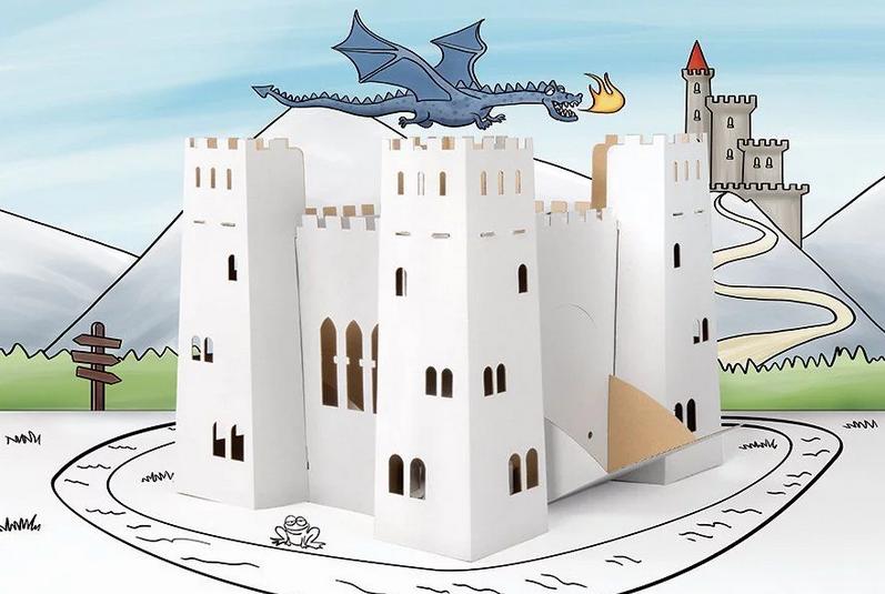 Tektorado Kartonový pohádkový hrad