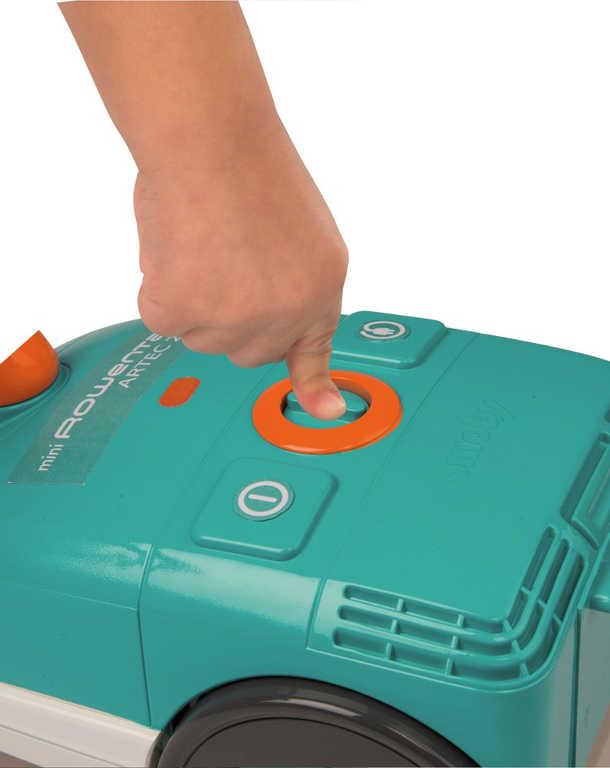 SMOBY Vysavač dětský Rowenta Artec 2 na baterie Zvuk plast