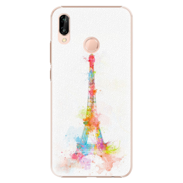 Plastové pouzdro iSaprio - Eiffel Tower - Huawei P20 Lite