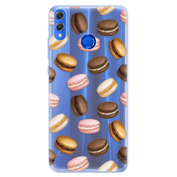Silikonové pouzdro iSaprio - Macaron Pattern - Huawei Honor 8X