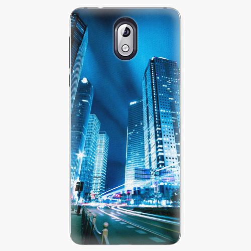 Plastový kryt iSaprio - Night City Blue - Nokia 3.1