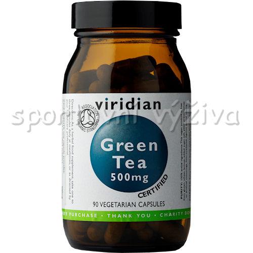Viridian Green Tea Organic - BIO 90 kapslí