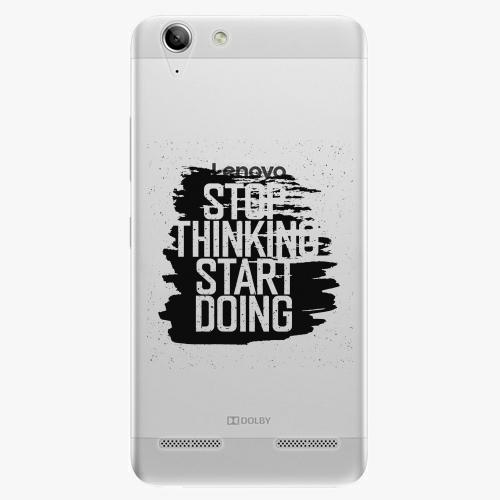 Plastový kryt iSaprio - Start Doing - black - Lenovo Vibe K5