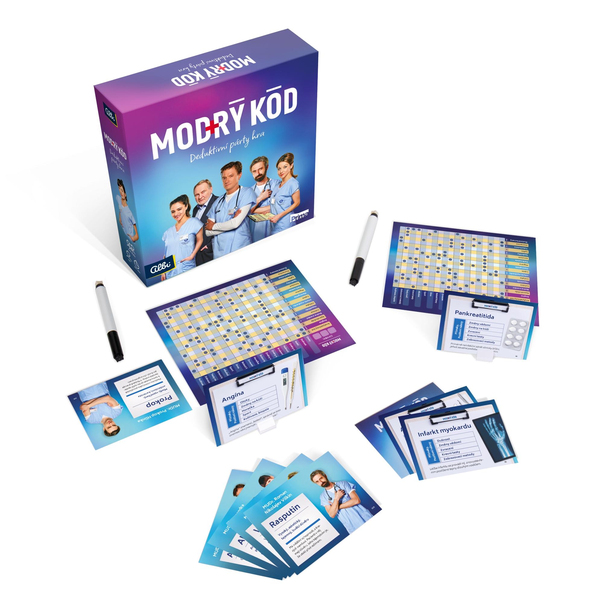 Modrý kód - desková hra