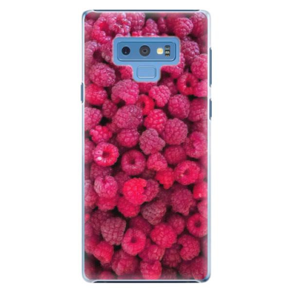 Plastové pouzdro iSaprio - Raspberry - Samsung Galaxy Note 9