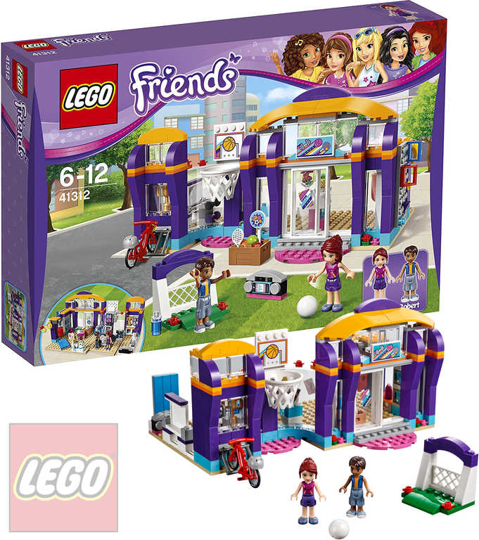 LEGO FRIENDS Sportovní centrum v městečku Heartlake 41312 STAVEBNICE