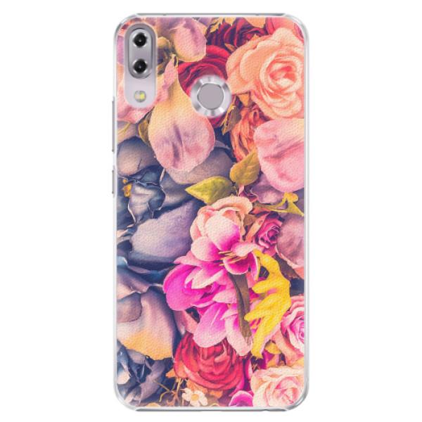 Plastové pouzdro iSaprio - Beauty Flowers - Asus ZenFone 5 ZE620KL