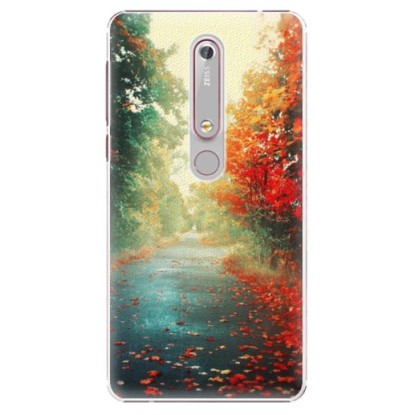 Plastové pouzdro iSaprio - Autumn 03 - Nokia 6.1
