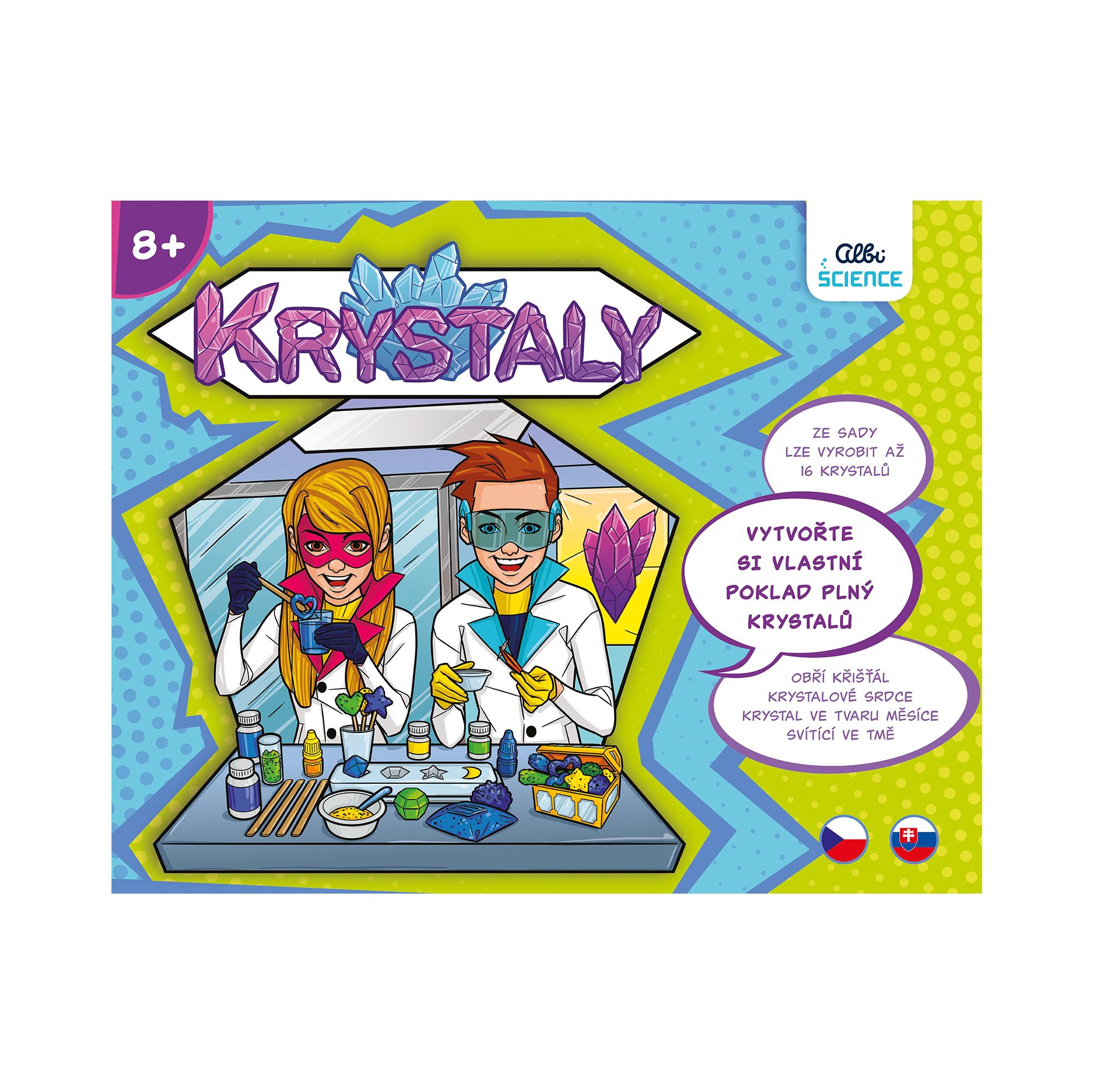 Krystaly - Albi Science