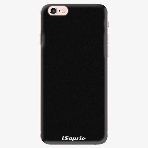 Silikonové pouzdro iSaprio - 4Pure - černý - iPhone 7