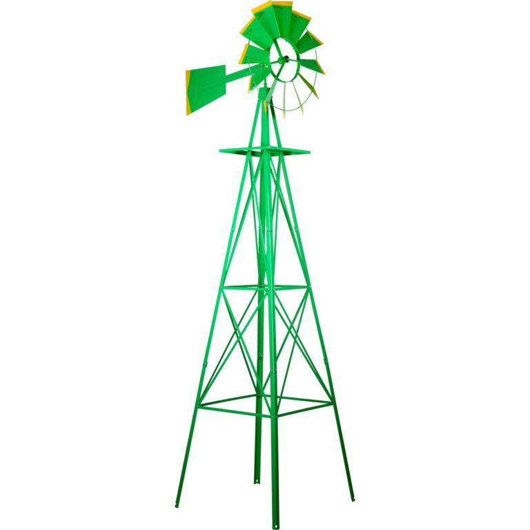 vetrny-mlyn-v-us-stylu-zelena-245-cm