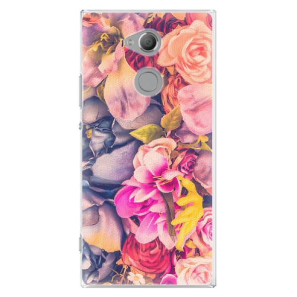 Plastové pouzdro iSaprio - Beauty Flowers - Sony Xperia XA2 Ultra