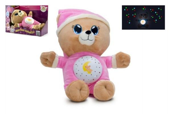 medvidek-usinacek-ruzovy-plys-32cm-na-baterie-se-svetlem-a-zvukem-v-boxu-12m