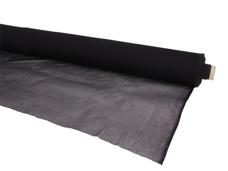 Vodopropustná zakrývací tkanina, 1,95 x 1m, černá