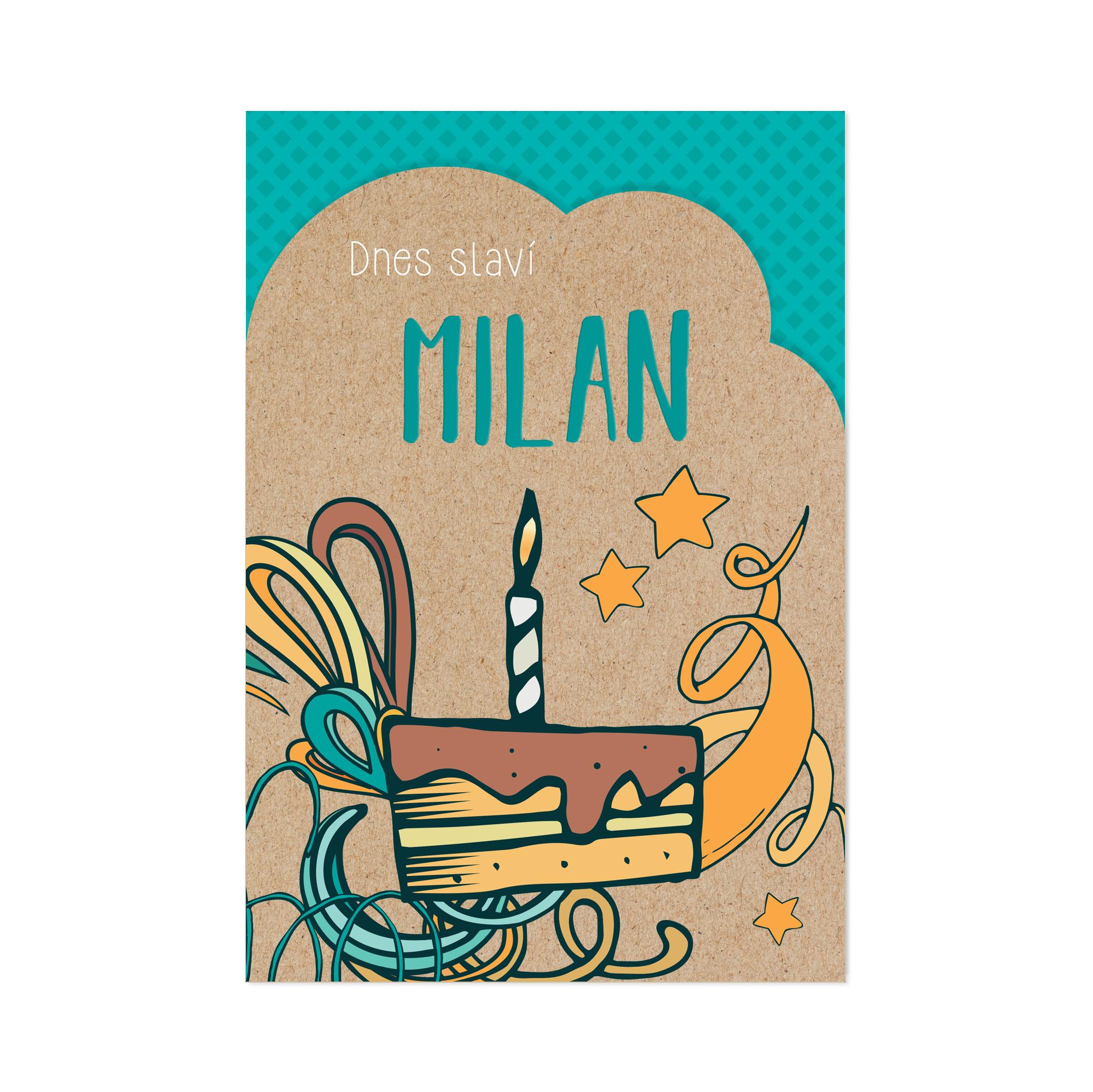Přání - Milan