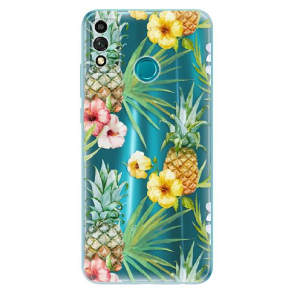 Odolné silikonové pouzdro iSaprio - Pineapple Pattern 02 - Honor 9X Lite