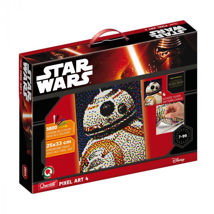 Quercetti Pixel Art 4 Star Wars BB-8 0844