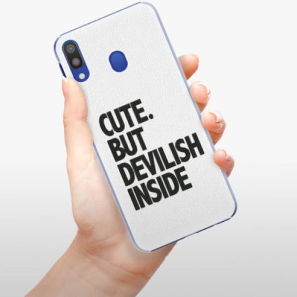 Plastové pouzdro iSaprio - Devilish inside - Samsung Galaxy M20